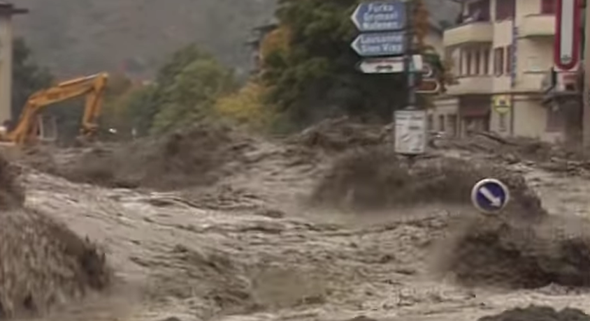 Brig-Glis - Unwetterkatastrophe 1993