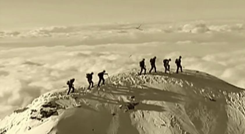 Zermatt die Erstbesteigung